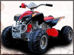 Wielki quad ATV Turbo 2 Silniki 2013