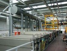Equipment for galvanisation