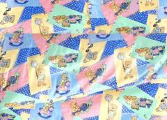 Tkaniny pościelowe wzory różne