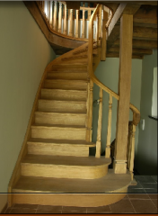 Finished spiral staircases