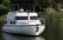 Houseboat RC1400 - luksusowe jachty motorowe dla żeglugi śródlądowej