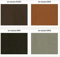 Artificial leather for furniture upholstering