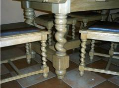 Produkacja mebli i elementów dębowych