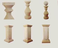 Kolumny z piaskownika
