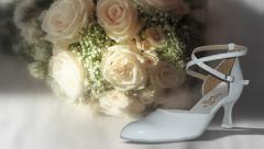 Buty ślubne dla pań model 38 lakier