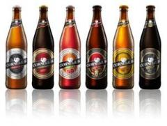 Beer in bottles