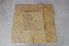 Płytki granitowe Kashmir Gold 40x40x1 poler. mega