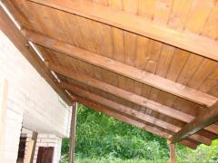 Wiaty i zadaszenia drewniane