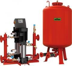 Układy stabilizacji ciśnienia / gigamat