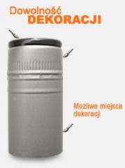 Aluminum caps for alcoholic beverages
