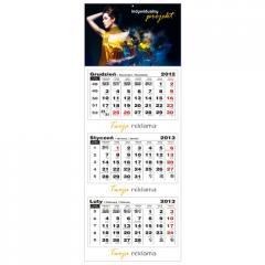 Kalendarz trójdzielny 2013 główka płaska