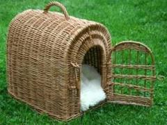 Transfer baskets for dogs and cats