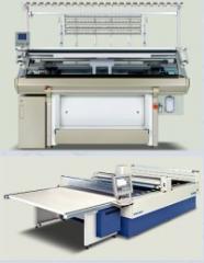 Maszyny dziewiarski produkcji Shima Seiki