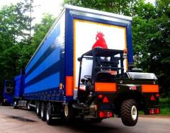 Trailers for transportation of birds