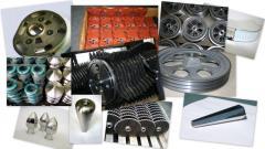 Części zamienne i wyroby metalowe