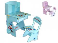 Biureczko dziecięce z krzesełkiem - Magic