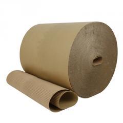 Corrugated cardboard roll