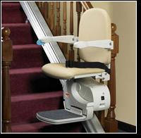 Krzesełka schodowe VIMEC typ ISCHIA o torze