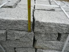 Opornik granitowy 10/20cm szary