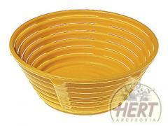 Koszyczek okrągły na chleb 2000g [30x9 cm]