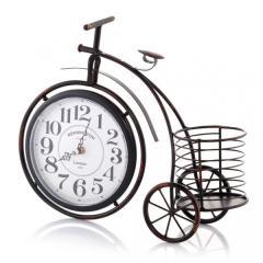 Zegar stojący Oldbike czarny