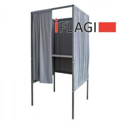 Składana kabina wyborcza Euro 90 x 90 x 200 cm