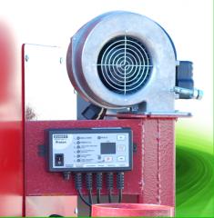 Air heating boilers