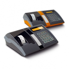 Cash registers for points of currency exchange