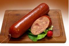 Boiled sausages