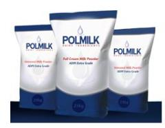 Milk powders