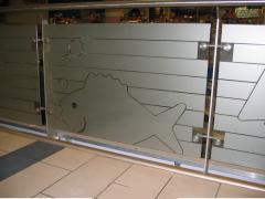 Folia - szronione szkło