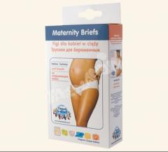 Canpol Figi dla kobiet w ciąży - pod brzuch Białe