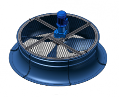 Fans for cooling towers