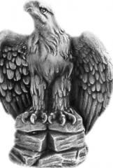 Taştan kuş heykelleri