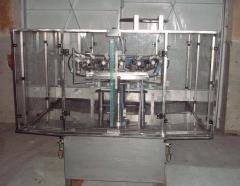 Bottle rinsing machines