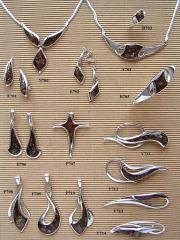 Biżuterii z bursztynem