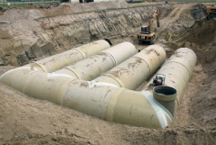 Reservoirs for rainwater