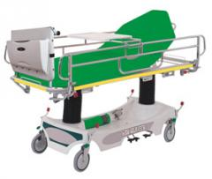 Carriages for transportation of patients