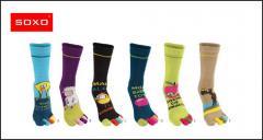 Socks on five fingers