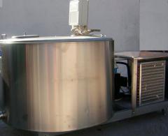 Tanks-milk coolers