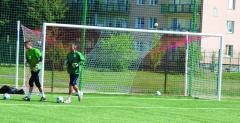 Profesjonalna bramka do piłki nożnej – aluminiowa