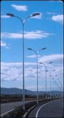 Słupy oświetleniowe metalowe