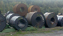 Heavy-duty sheet steel rolls (hot-rolled)