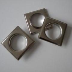 Elementy ozdobne do dekoracji wnętrz ze stali nierdzewnej