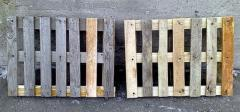 Pallets, cargo trays, wooden, repaired