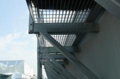 Konstrukcje metalowe - kraty pomostowe