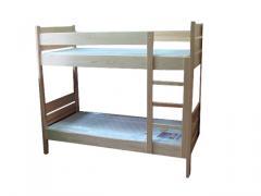 Łóżko piętrowe 2-osobowe
