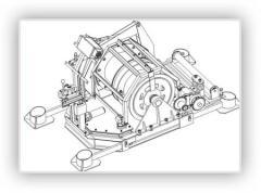 Těžké navijáky hydraulické a  pneumatické