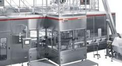 Equipment for bottling and sealing of food liquids