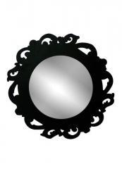 Lustro okrągłe w stylu Art Deco